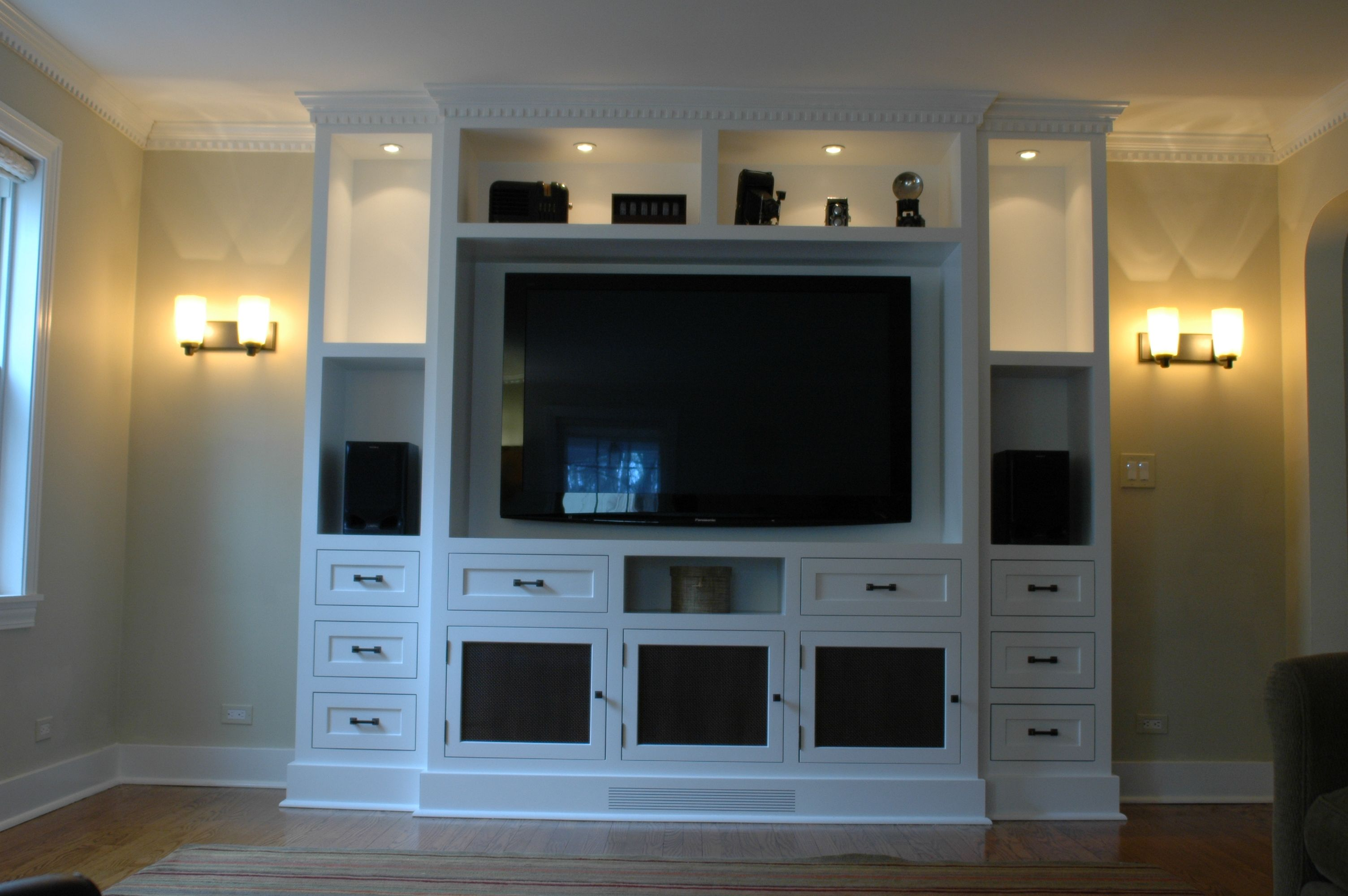 Custum Tv Built In | Customer Images Amazing Pictures