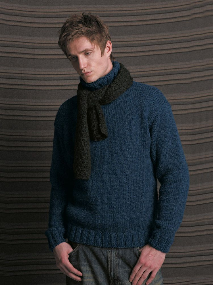 Brody Sweater in Rowan Lima