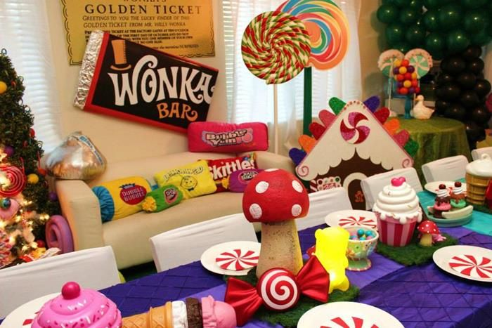 charlie and the chocolate factory decoration ideas