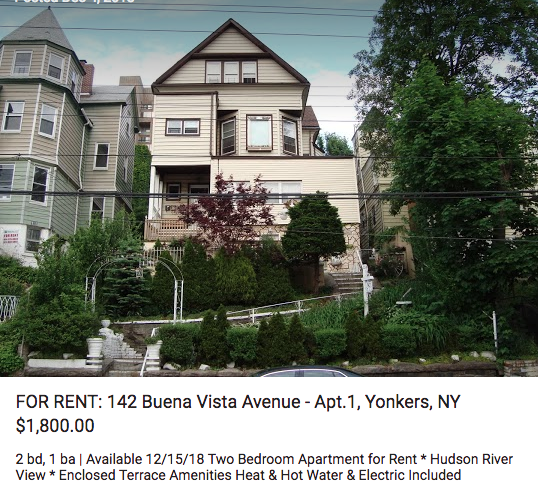 This Apartment For Rent In Westchester County Is Located