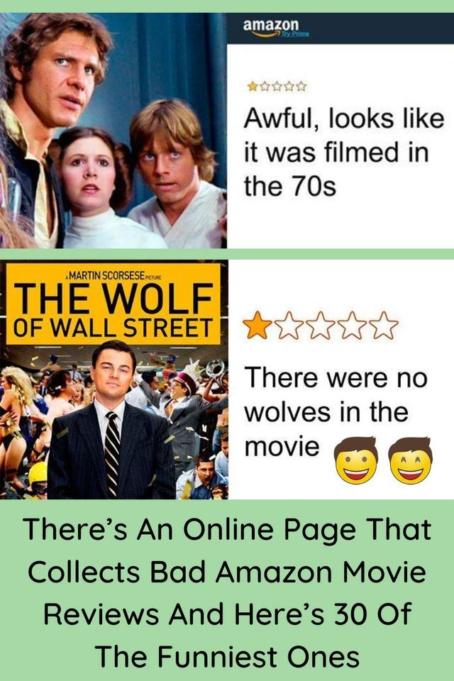 There's An Online Page That Collects Bad Amazon Movie