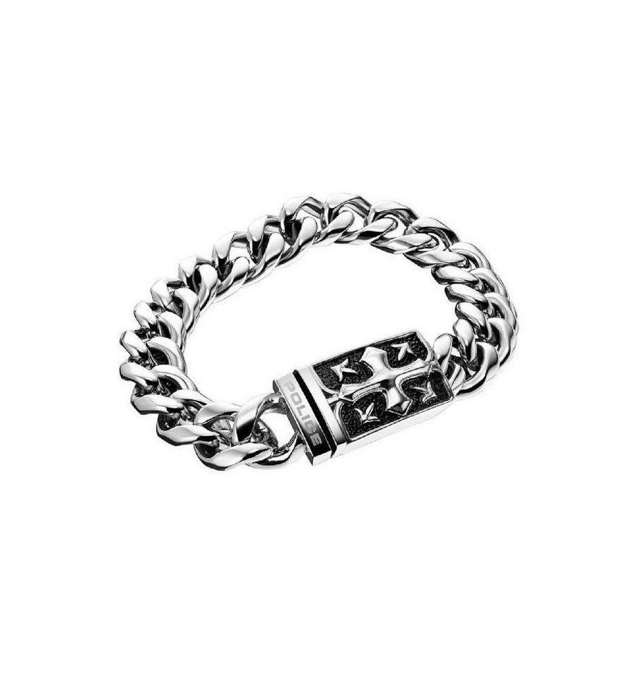 style à la mode grande variété de modèles design exquis Nous vons présentons Bracelet Homme Police S14YJ01B et une ...