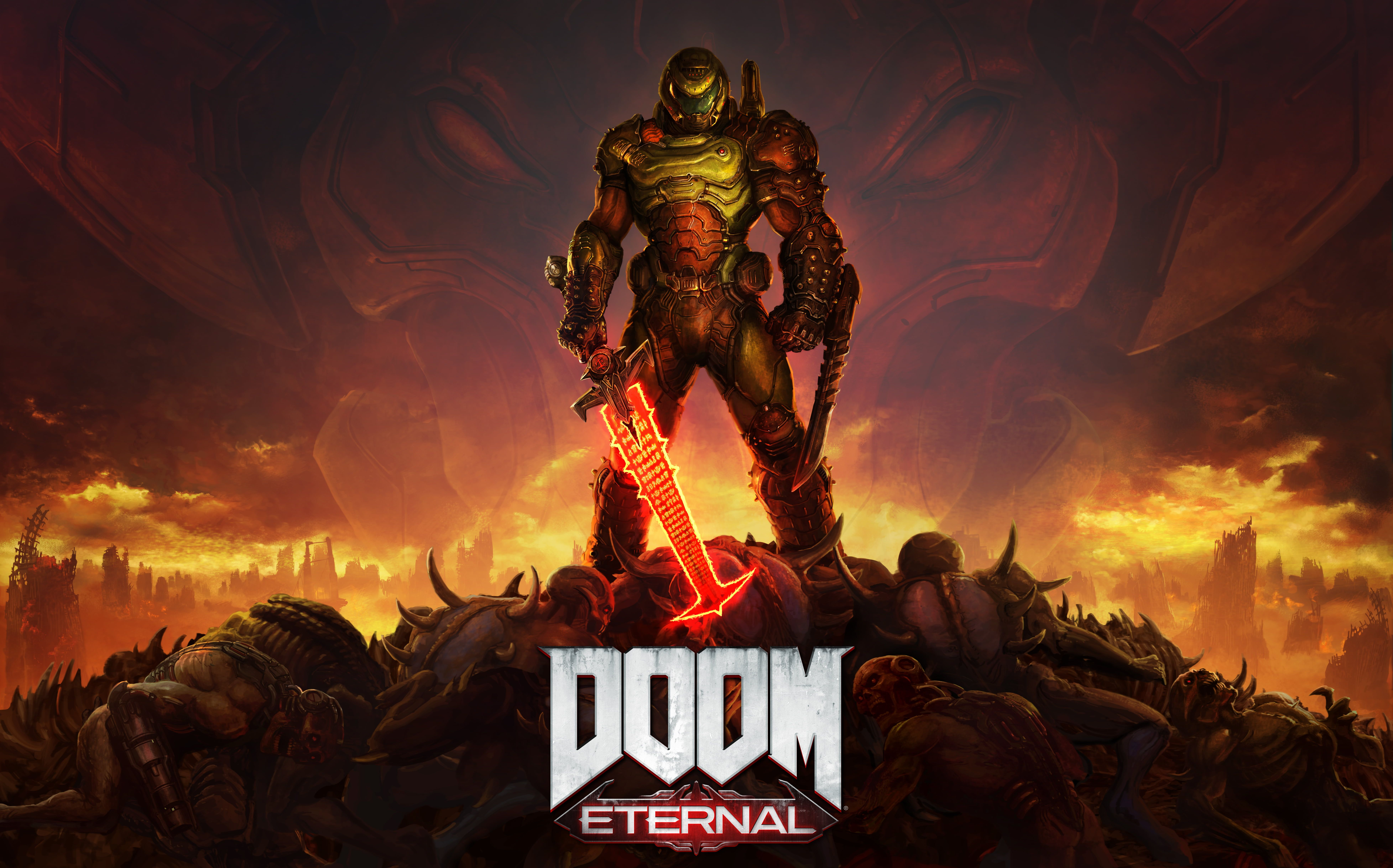 Doom DOOM Eternal 8K wallpaper hdwallpaper desktop в