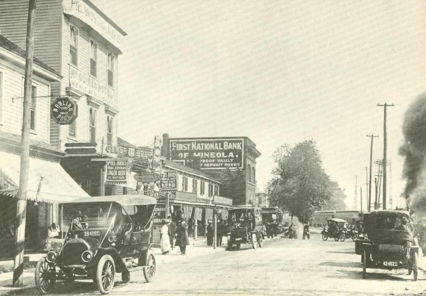 Main St Mineola Ny 1913
