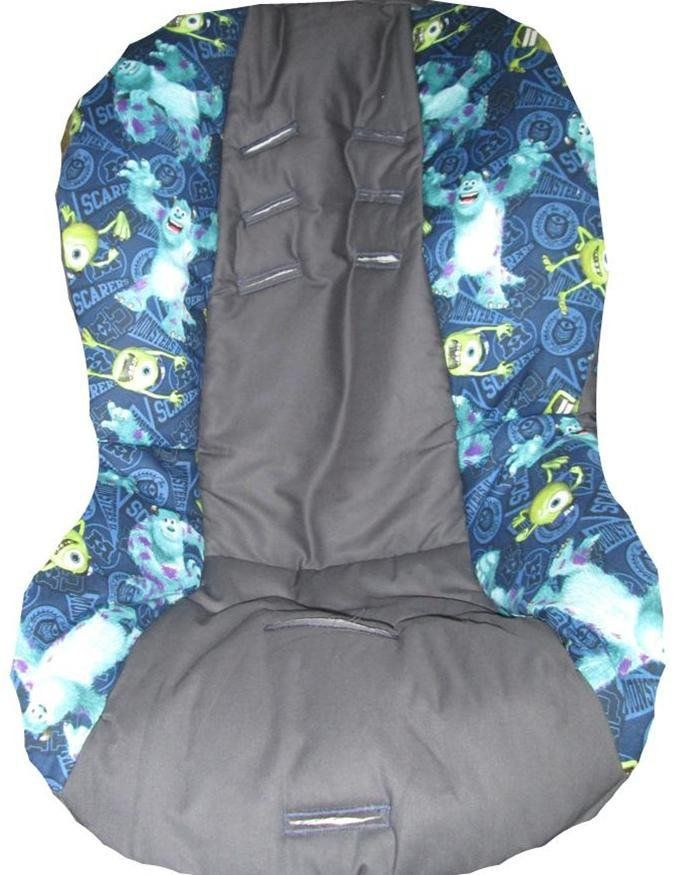 Monsters Inc. theme inspired Car Seat Cover | Seat covers, Car seats ...
