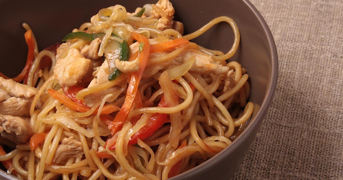 Simple et rapide | Chow mein, Recette asiatique et ...