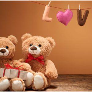 Teddy Love Bears Romantic Wallpaper Teddy Love Bears Romantic