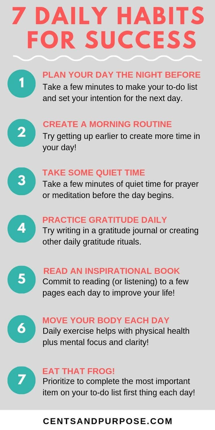 Photo of 7 habits you need to create to have a successful day