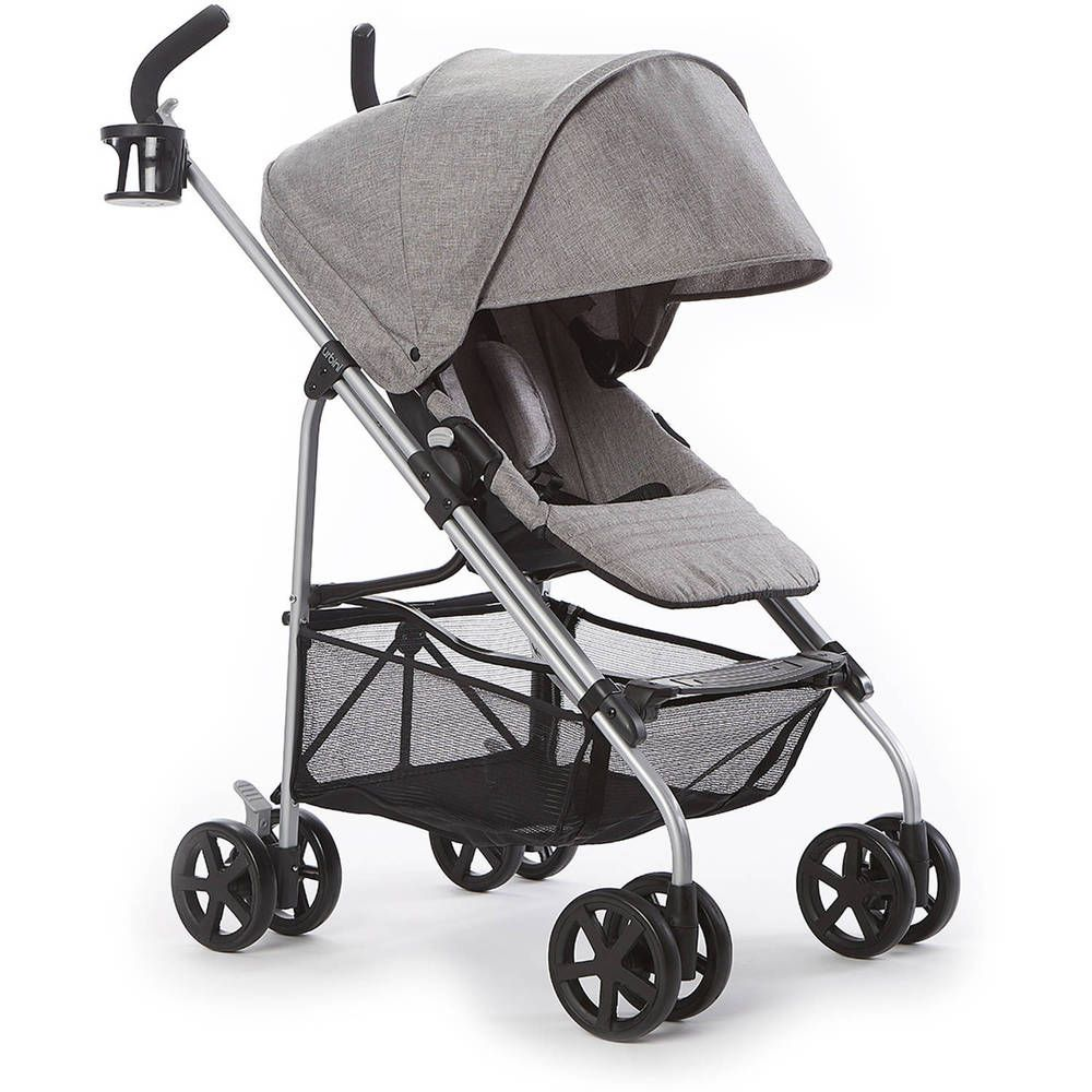 Reversible Stroller City Jogger Black Single Baby Seat
