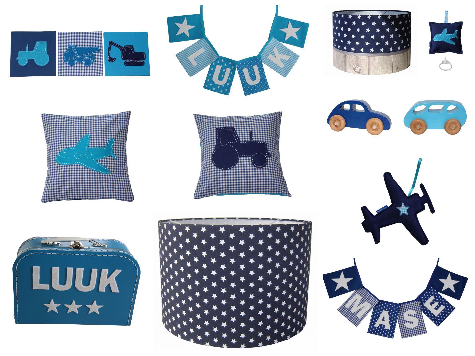 Blauwe Baby Accessoires.Accessoires Babykamer Kinderkamer Jongen Blauw Kinderkamer