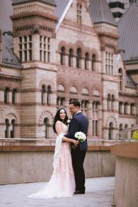 Wedding And Engagement Photography Locations In Toronto City Hall