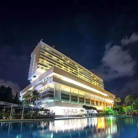 فندق الاوراسي بالجزائر العاصمة ليلا سمي نسبة لجبال الاوراس في شرق الجزائر Algeria Algiers By Night Travel In 2018 Pinterest Travel