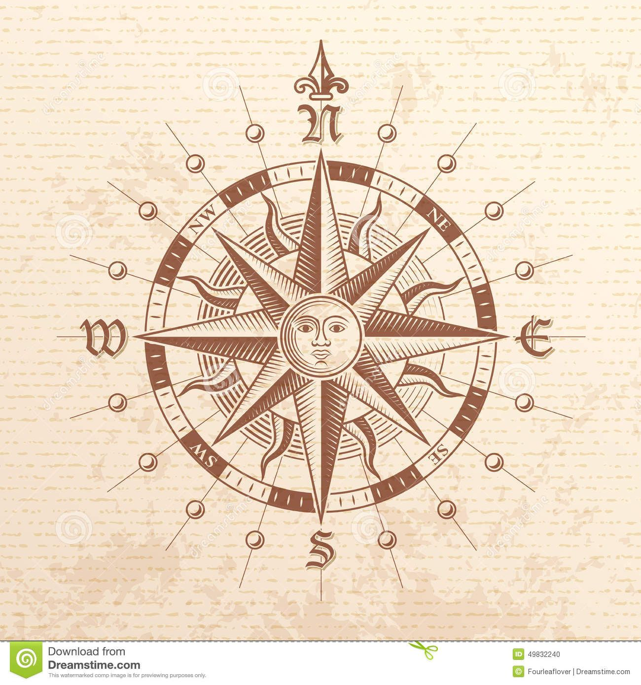 vintage nautical charts compass rose - Google Search | 25th ...