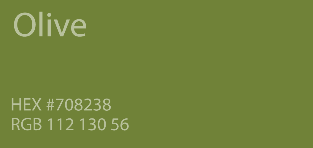 Olive Color Code olive-green-color-paint-code-swatch-chart-rgb-html-hex