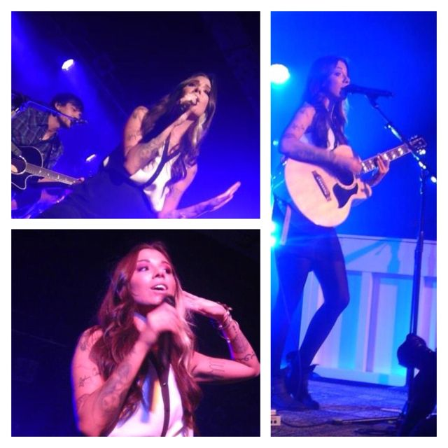 Christina Perri, Grand Rapids 2012.