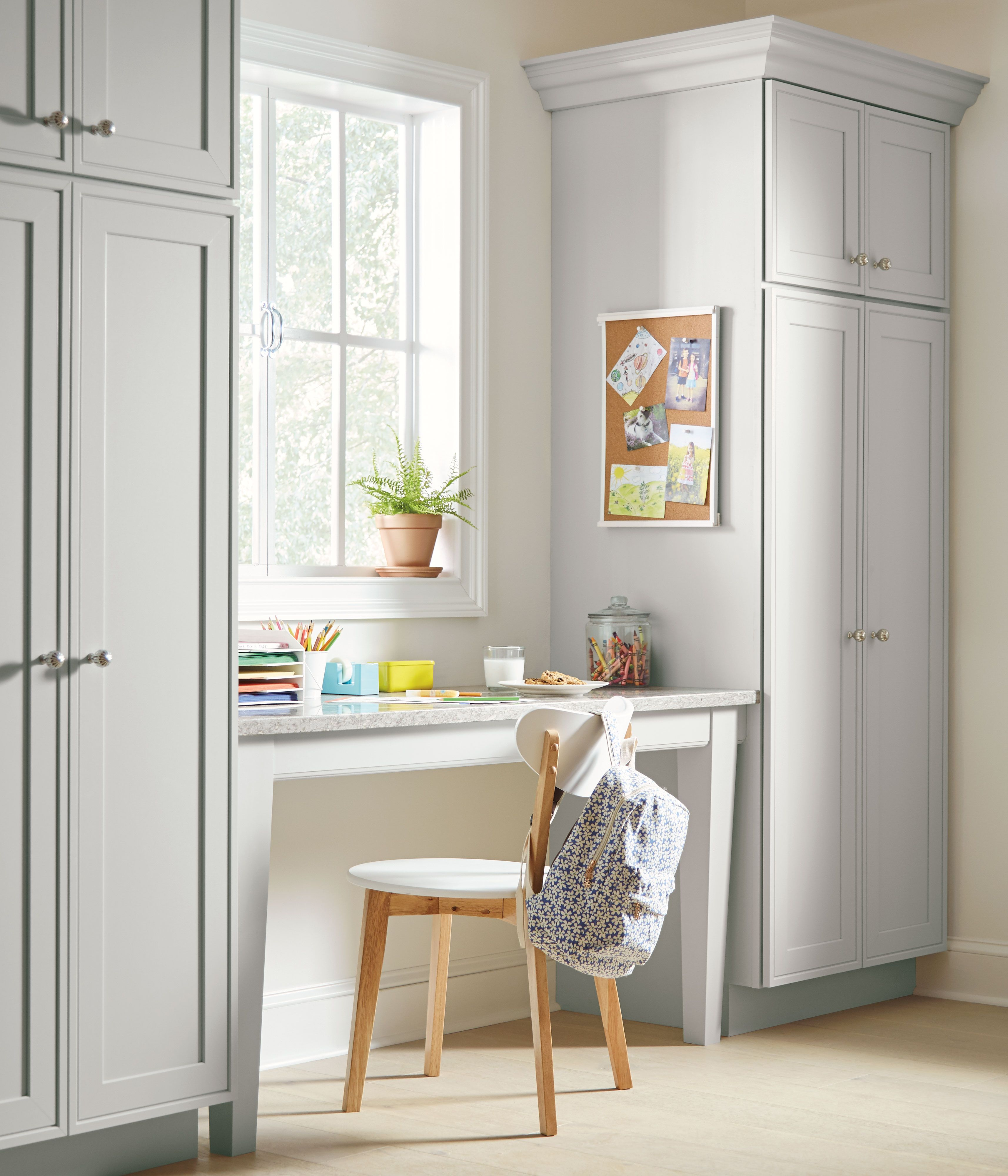 Kitchen Design Tip: Create a work station with kitchen ...