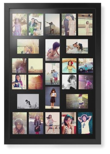 e44df69180f High Count Montage Portrait Deluxe Mat Framed Print