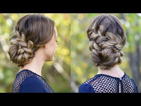 Cute Girls Hairstyles Youtube French Braid Updo  Homecoming Hairstyle  Cute Girls Hairstyles