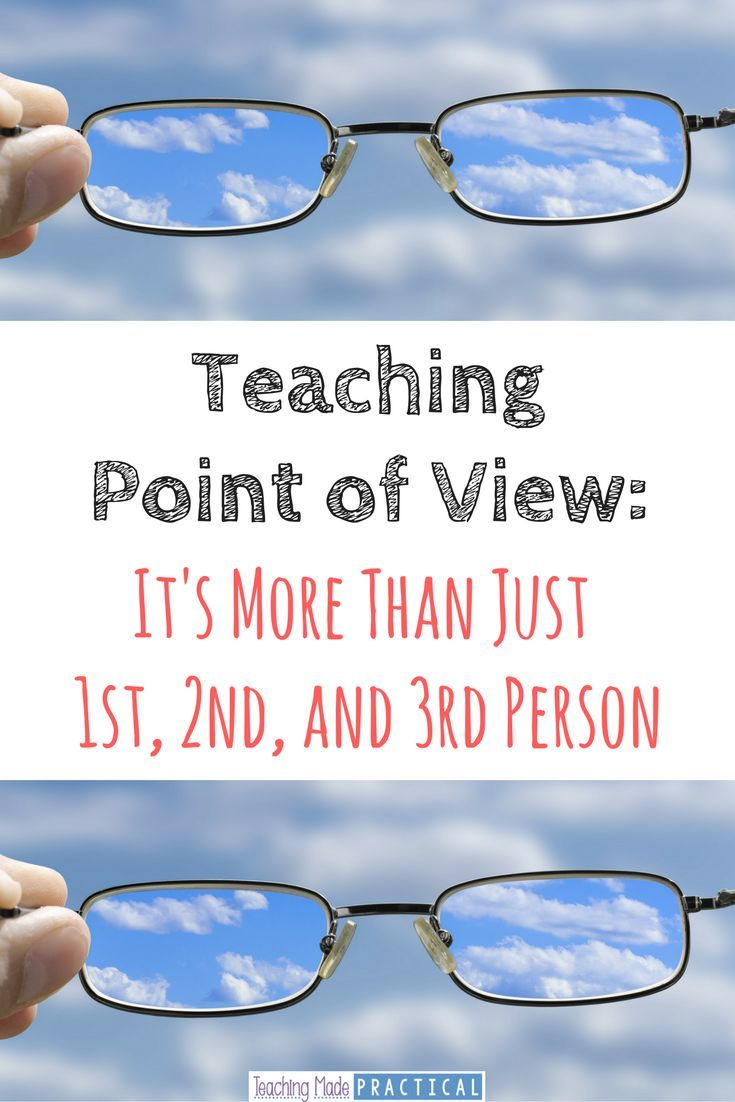 Point of view is about more than just 1st, 2nd, and 3rd person. Find ideas to teach the other aspects of point of view to your students. Includes a…