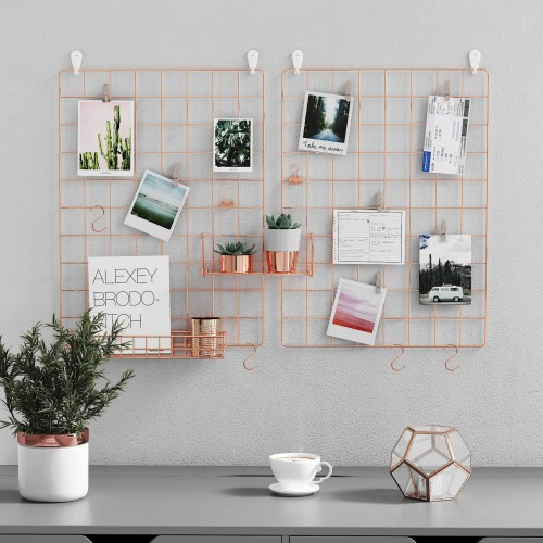 Wall Grid Photo Panel Room Wall Decor Room Decor Dorm Wall Decor