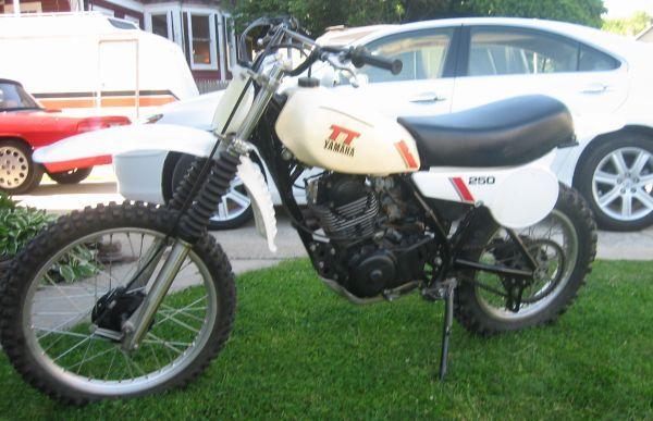 1980 Tt 250 Yamaha 4 Stroke Google Search Good Trail Bike