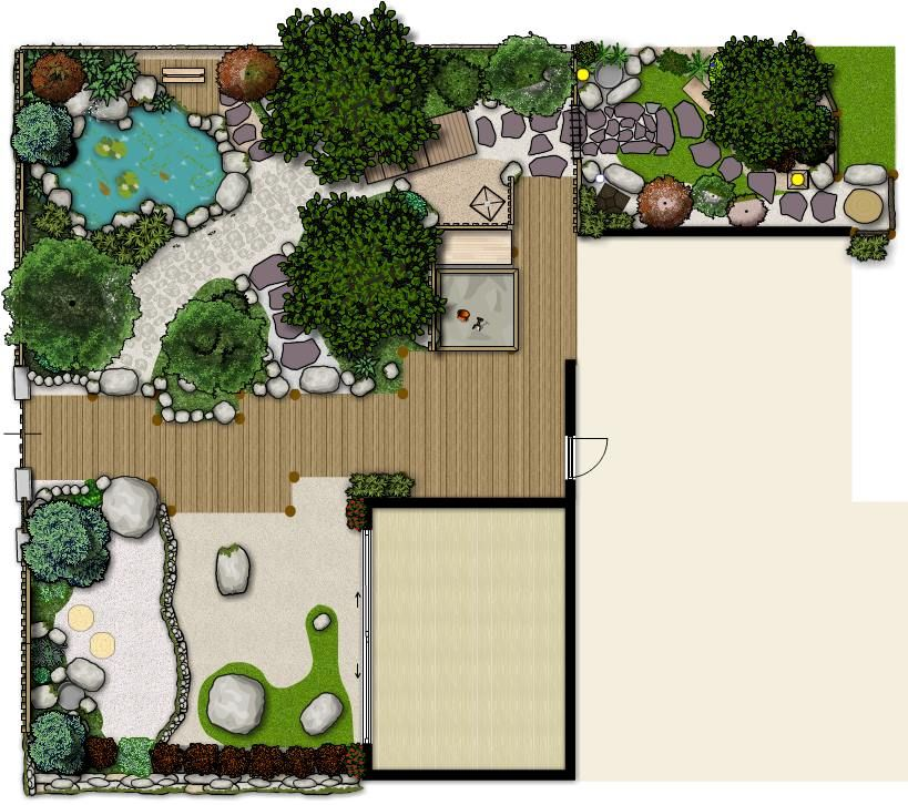 Garden Plan Design My Japanese Garden Garden Design Layout