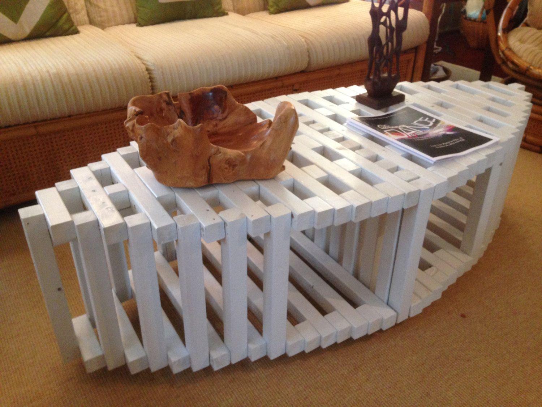 Canoe COFFEE TABLE BENCH, Architect Design, Contemporary Furniture,  Geometric Sculpture, Futuristic,