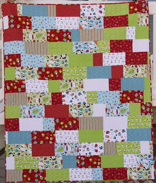 Kids Christmas Quilt 1 by from the blue chair, via Flickr ... : kids christmas quilts - Adamdwight.com