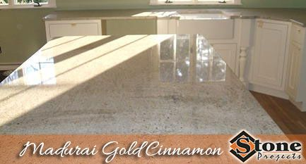 Madurai Gold Cinnamon Granite Countertops Fabricated And Installed By Stone Projects Located In Woburn Ma