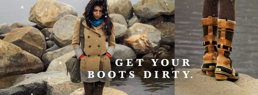Sorel Get Your Boots Dirty Campaign Opnminded