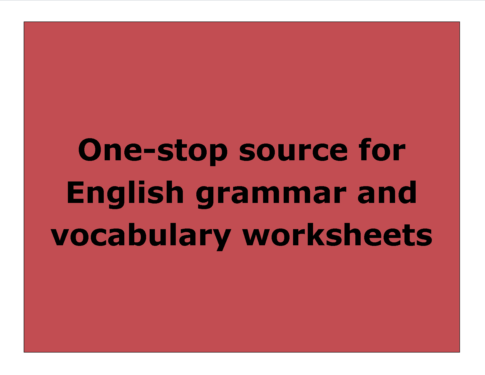 Free Worksheets Handouts Printables For Both Learners