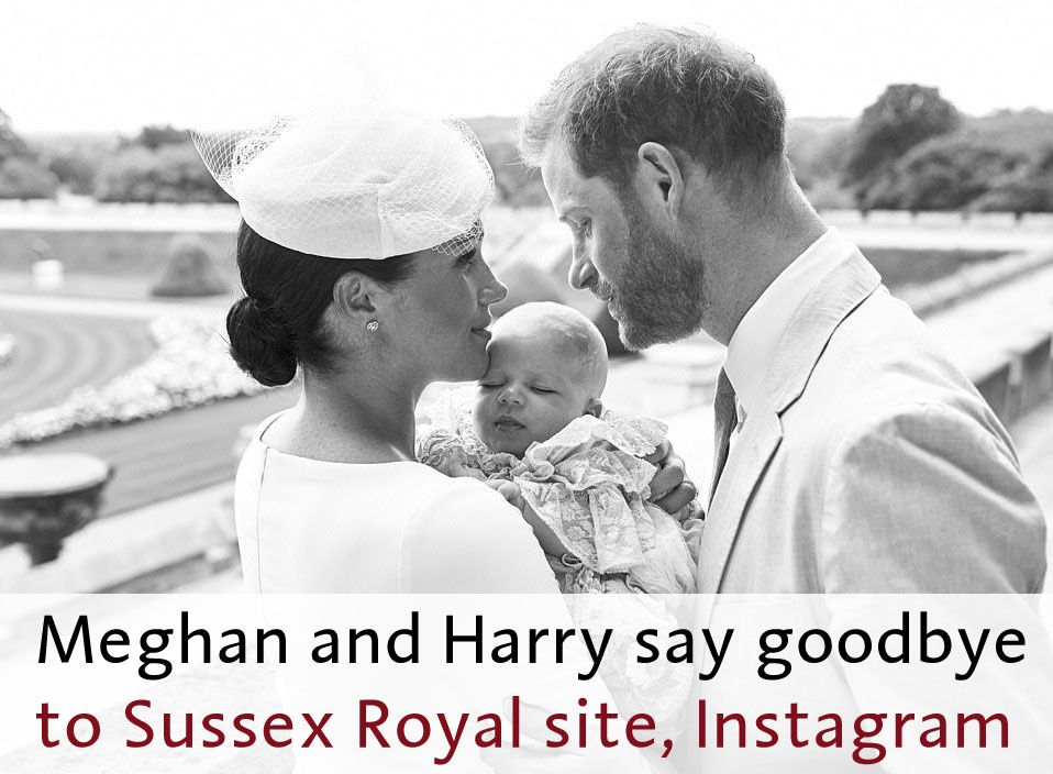 #DuchessMeghan and #PrinceHarry to officially stop using the #SussexRoyal website and Instagram tomorrow. #MeghanMarkle #MeghanandHarry #HarryandMeghan #Royals #Sussexes #DukeofSussex #DuchessofSussex #SussexRoyal #Sussexit #RoyalFamily