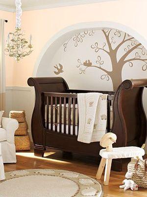 sleigh crib!!!