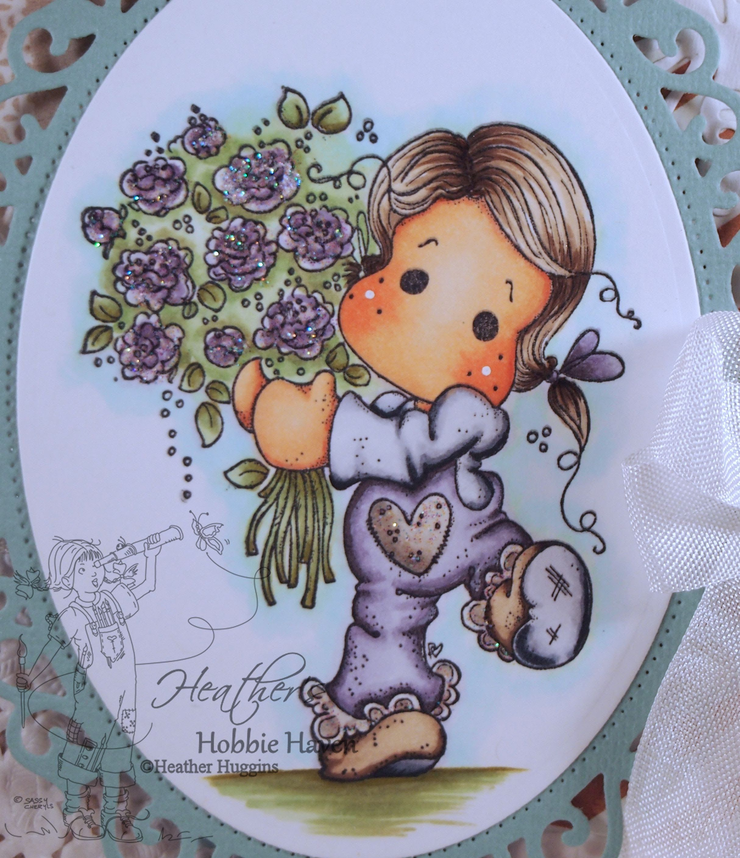 For You Tilda Copic Coloring Card Kit | Copics... | Pinterest | Card ...