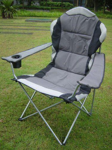deluxe campingstuhl xxl extra breit extra bequem belastbar bis 150 kg klappsessel. Black Bedroom Furniture Sets. Home Design Ideas