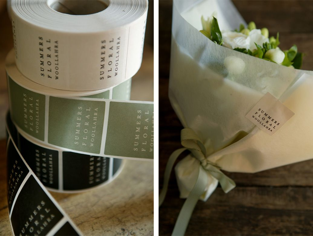 Summers Floral Woollahra - Summers Floral | branding / identity | private | Trigger
