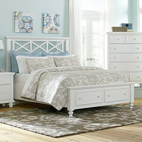 Ellington Garden Storage Bed White Http Www Amazon Com Dp