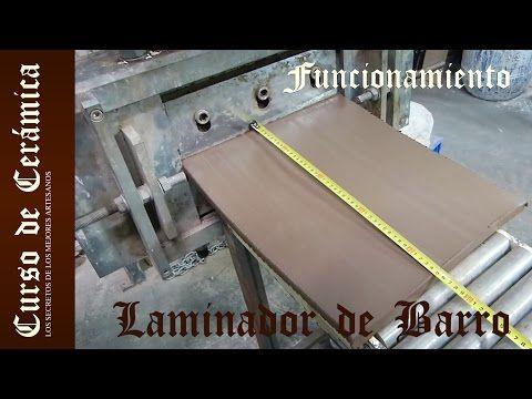 Curso De Ceramica Fabricar Planchas De Barro Con La Laminadora Electrica Youtube Curso De Ceramica Como Hacer Planchas Cursillo