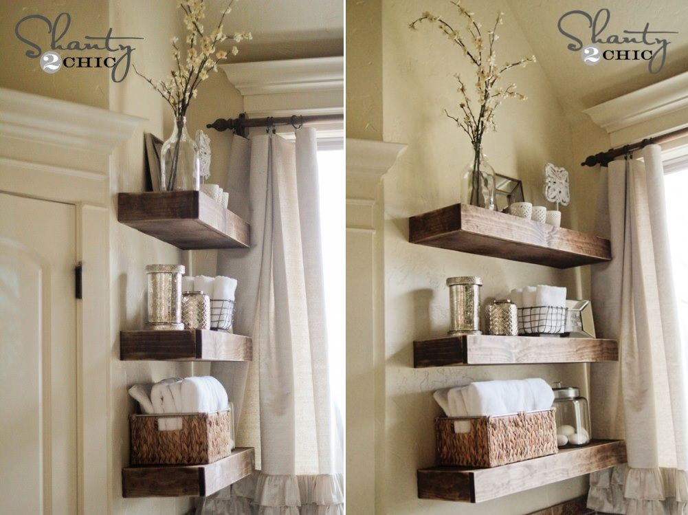 Photo Gallery For Website Hide Unsightly Toilet Items with this DIY Side Vanity Storage Unit