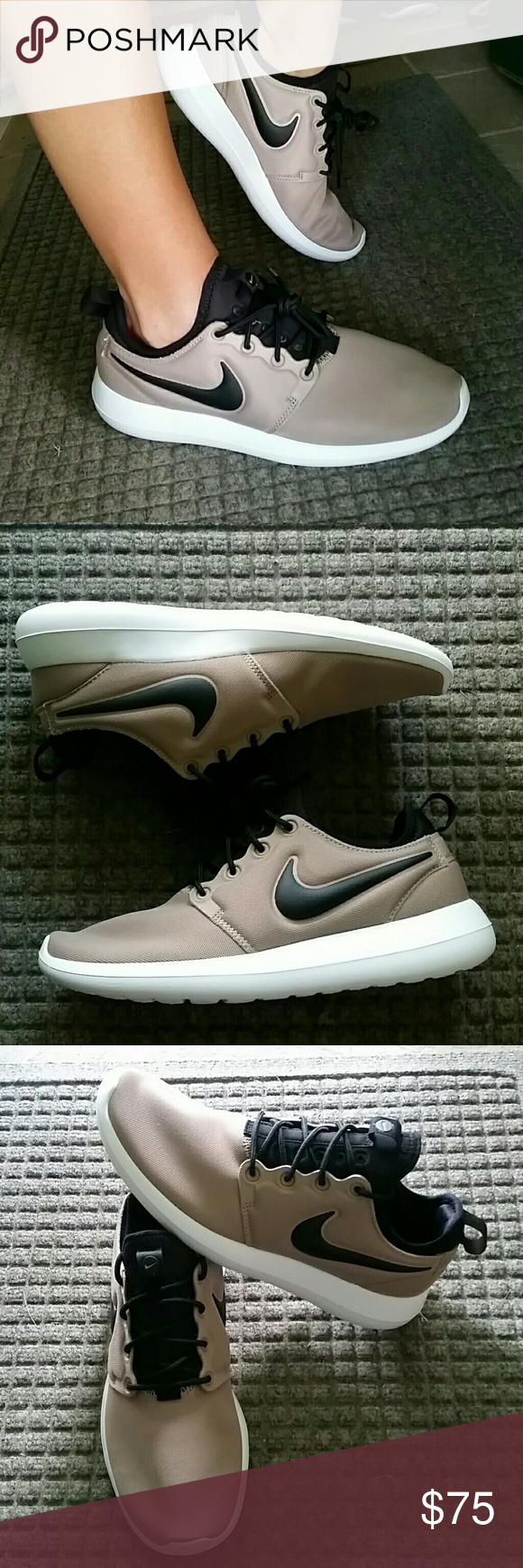 Women's Nike Roshe Two in Khaki Brand new women's size 8 Nike Roshe Two.  These