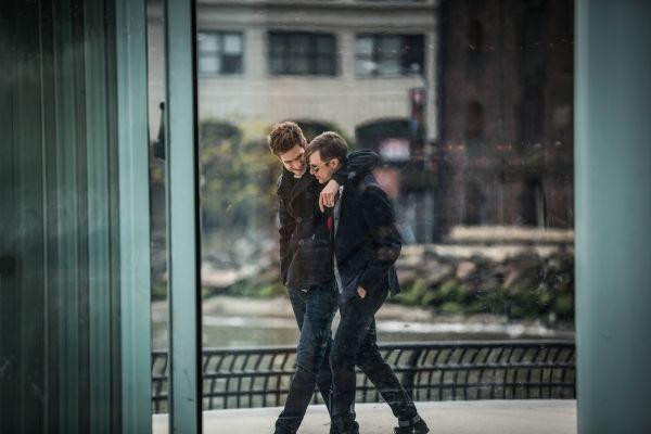 Peter Parker y Harry Osborn