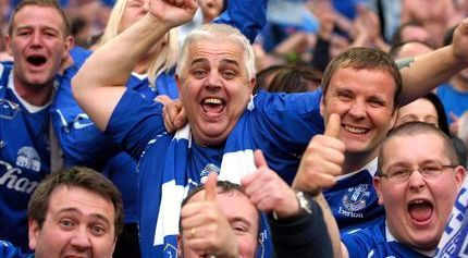 Fans del Everton