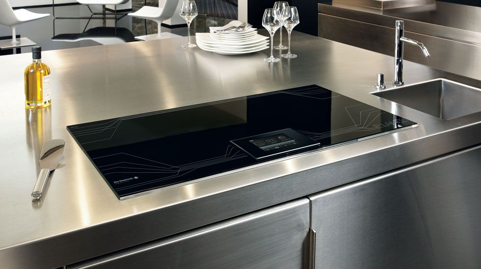 The De Dietrich Piano Full Zoneless Induction Hob With Capacity For 5 Individual Cookpoint Settings Want I Will Coo Kitchen Kitchen Design Kitchen Style