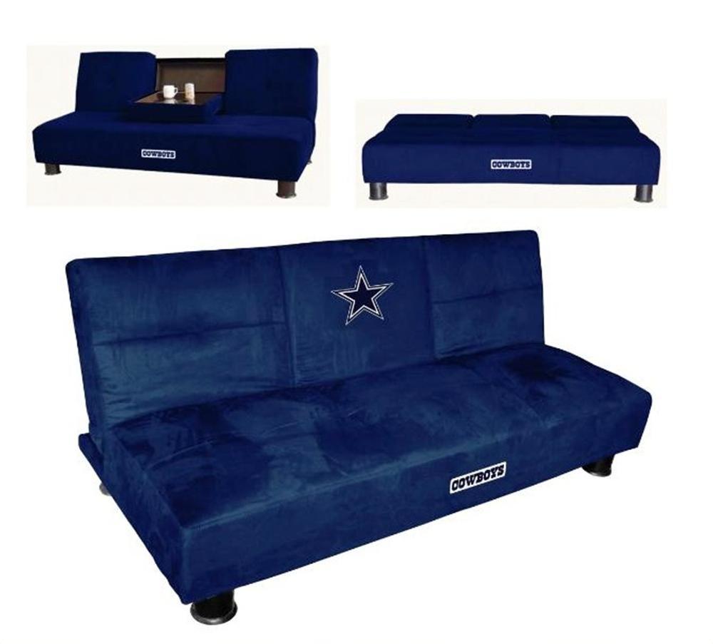 Dallas Cowboys Convertible Sofa With Tray Convertible Sofa Dallas Cowboys Philadelphia Eagles Man Cave