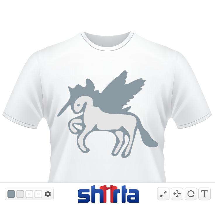 unique cool cute unicorn shapes outline vector graphic illustration fantasy animation line art