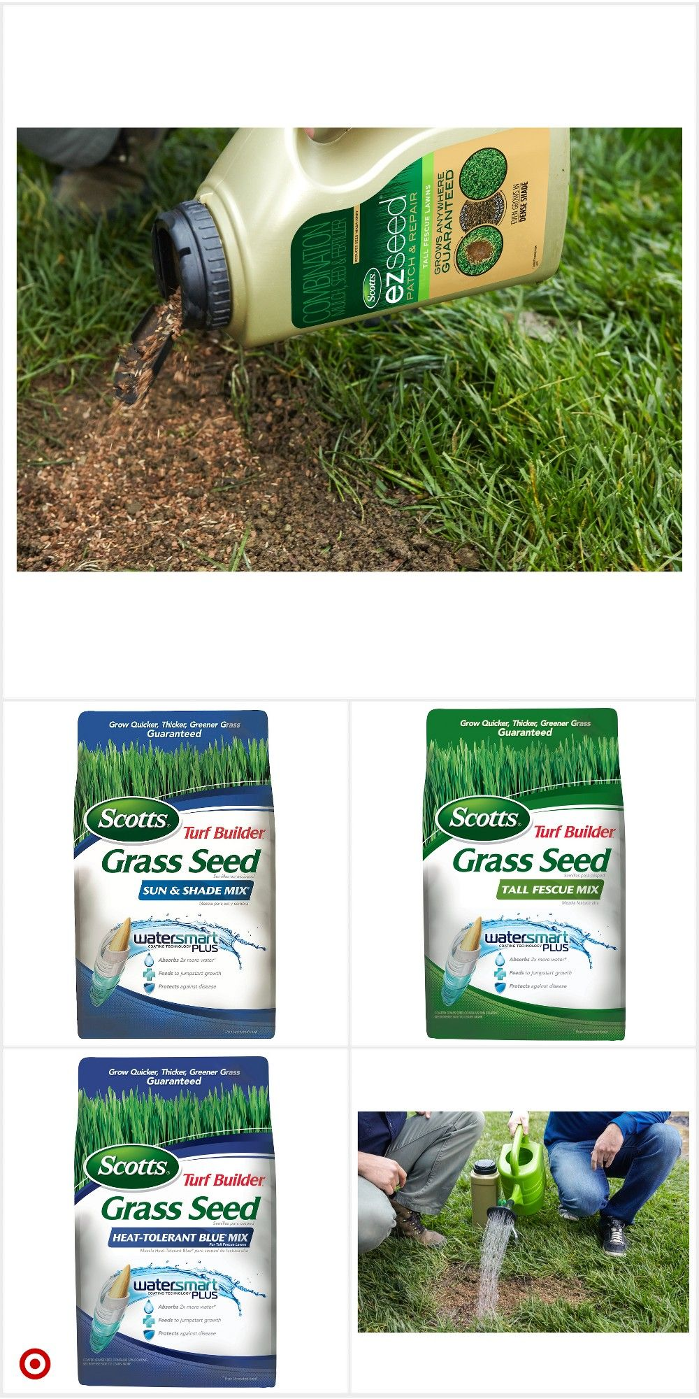 Shop Target For Grass Seed You Will Love At Great Low Prices Free Shipping On Orders Of 35 Or Free Same Day Pick Up In Store Grass Seed Grass Turf
