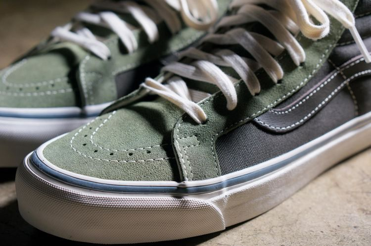 4d63fcff9d Vans Vault Sk8 Hi OG LX Dark Green Olive