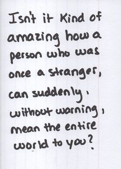 Once a stranger    | quotes | Boyfriend quotes, Relationship