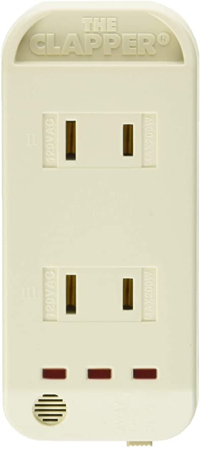The Clapper, Wireless Sound Activated On/Off Light Switch