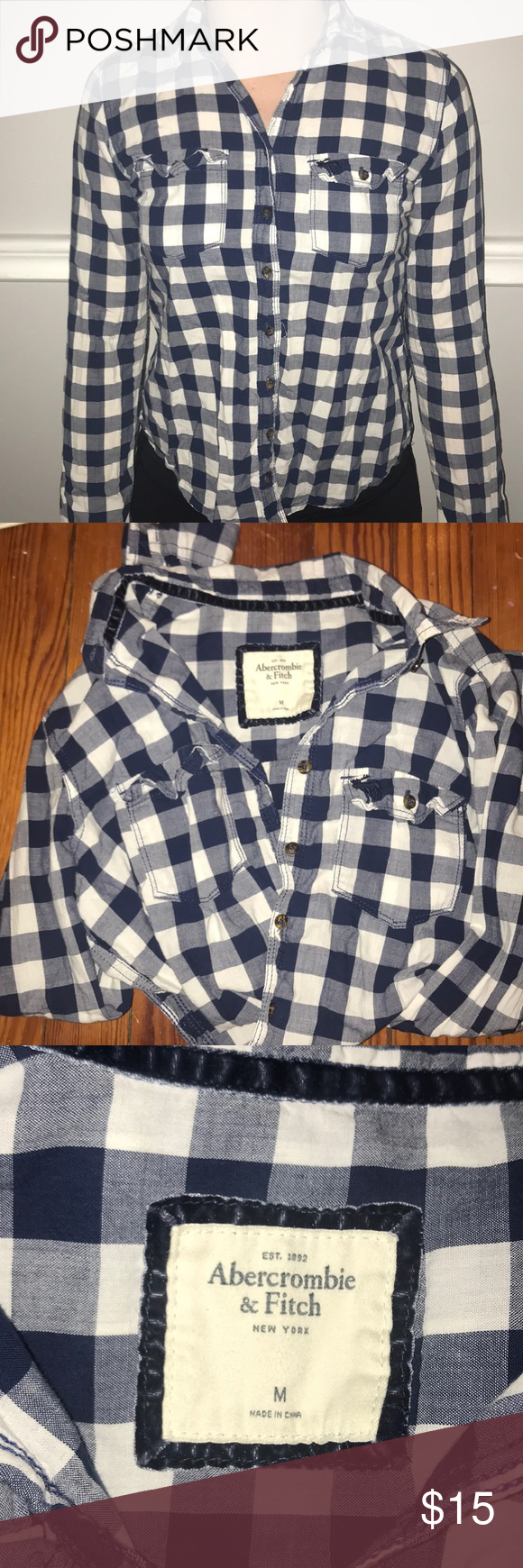 Flannel with shirt underneath  Abercrombie and Fitch Buttoned Flannel  Flannels Abercrombie fitch